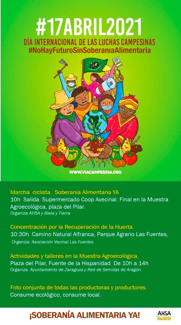 Soberanía alimentaria 17 abril