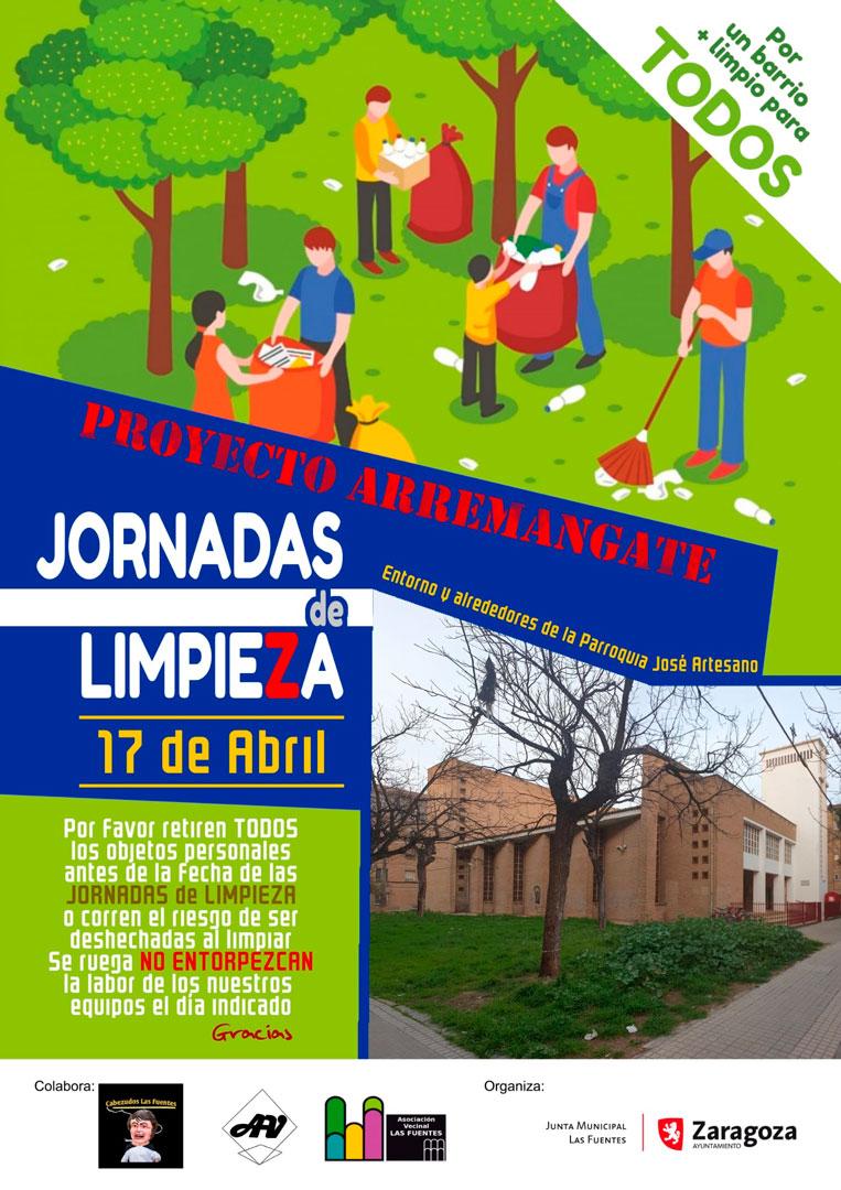 Jornadas Limpieza 17 abril 2021