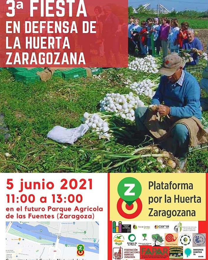 3ª Fiesta en defensa de la Huerta Zaragozana